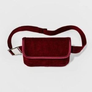Women's Corduroy Fanny Pack - Wild Fable Red